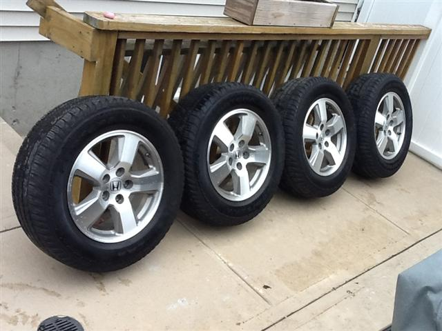 Rims And Tires For Sale Near Me >> 2010 Ex L Aluminum Wheels Tires For Sale Honda Pilot