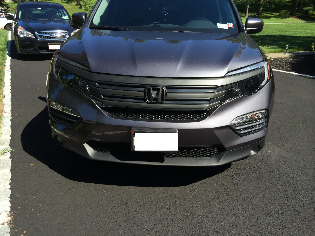 3 holes in the plastic grill below the driver side signal light - Page 3 - Honda Pilot - Honda ...