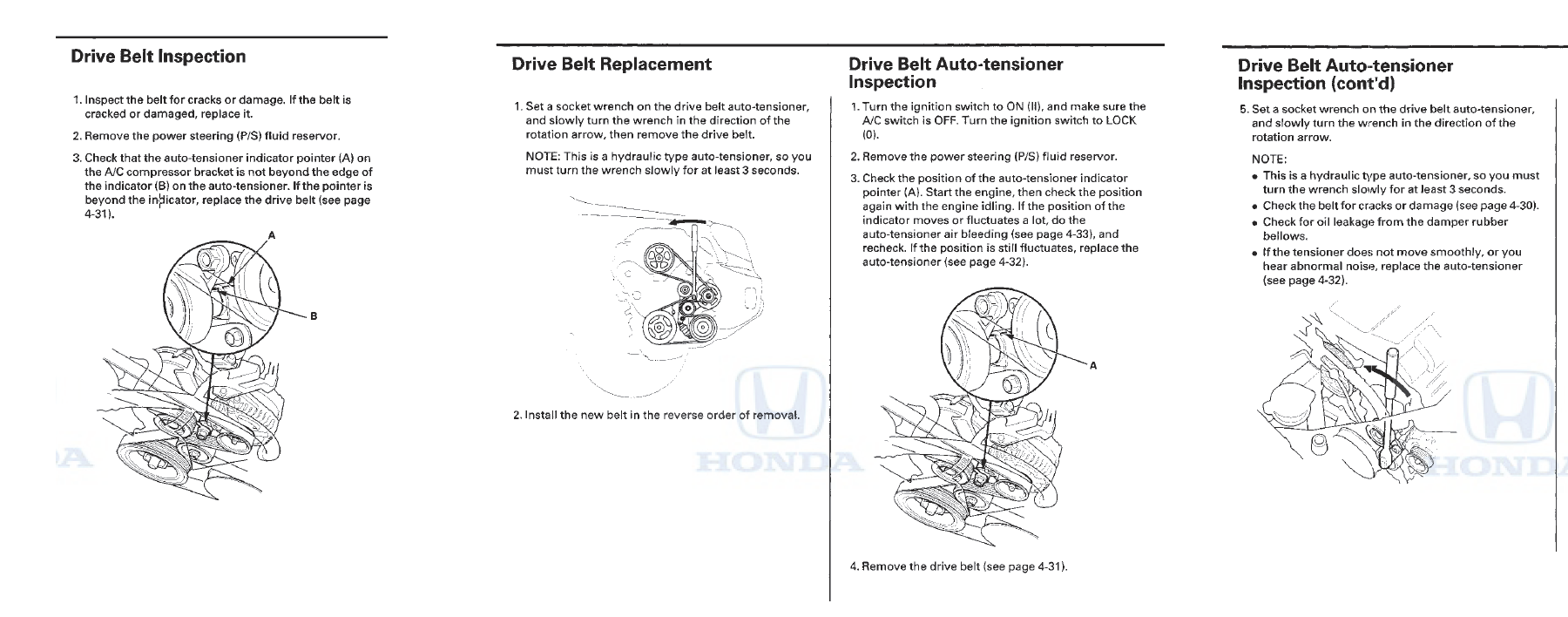 Drive Serpentine Belt Replacement Is A Beast Honda Pilot Honda Pilot Forums