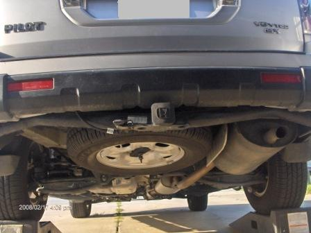 Confused About Full Size Spare For 2008 Ex L Pilot Honda Pilot