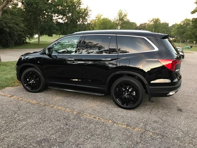 2016 Elite with Black Alloy Wheels and Running Boards - Honda Pilot - Honda Pilot Forums