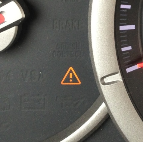Brake Warning Light Blinked A Few Times When Coming Into Sharp Curve Honda Pilot Honda Pilot