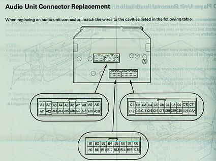 lost sub woofer after nav install honda pilot honda HID Conversion Kit Wiring Diagram