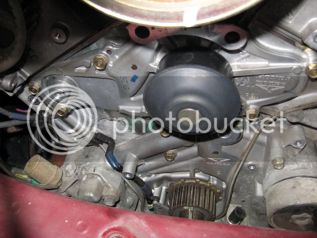 DIY (J35A4) timing belt replacement | Page 9 | Honda Pilot - Honda
