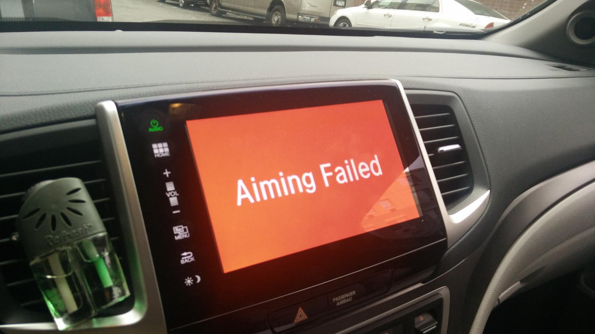Lanewatch aiming failed | Honda Pilot - Honda Pilot Forums