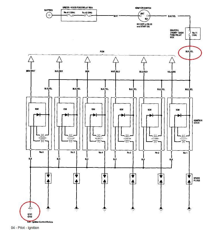 Another immobilizer/green key flashing problem - 04 Honda