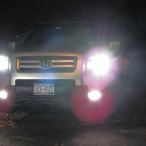 HID 4500k kit, LED 194s, XenoMatch H11 Fogs